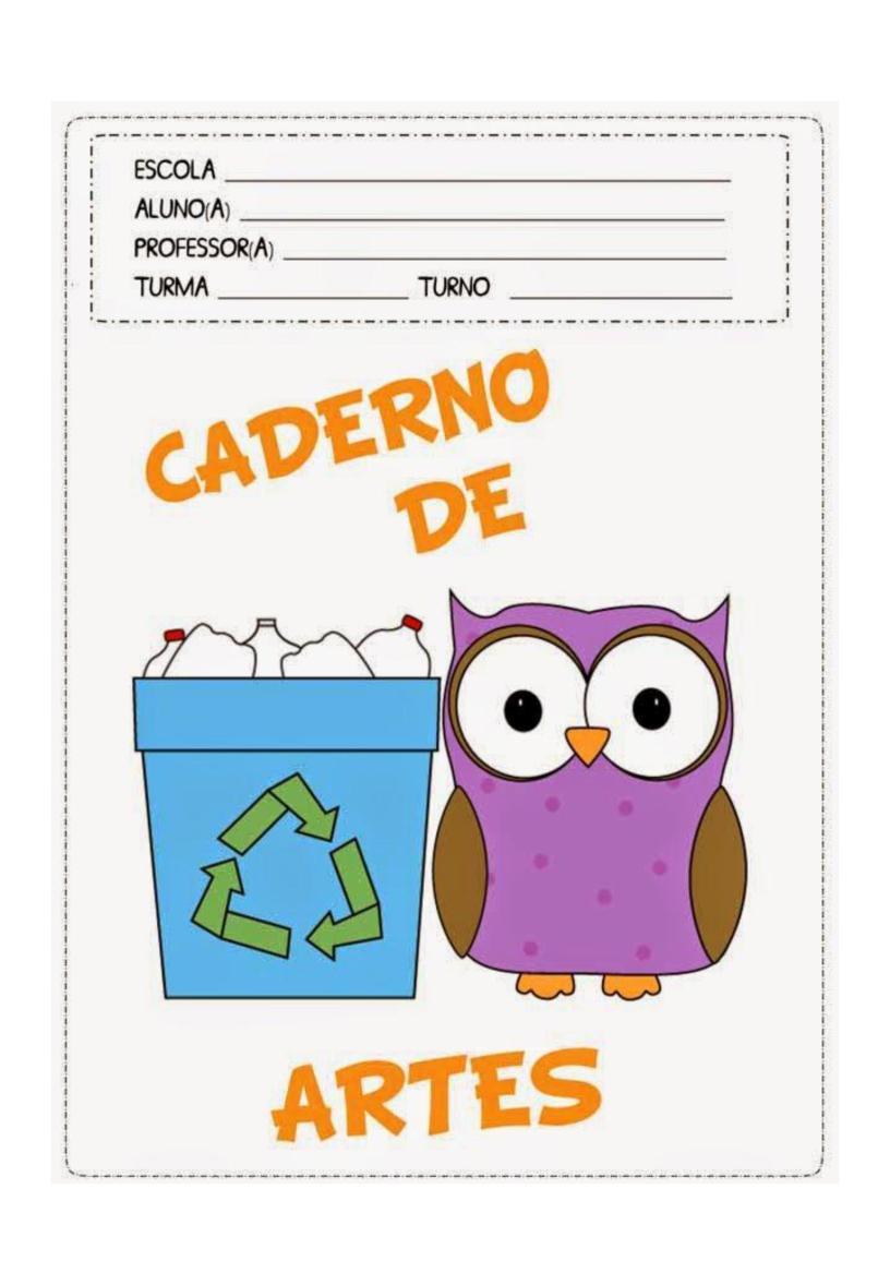 Capas De Caderno Coloridas Para Imprimir Pedagogiando No Blog